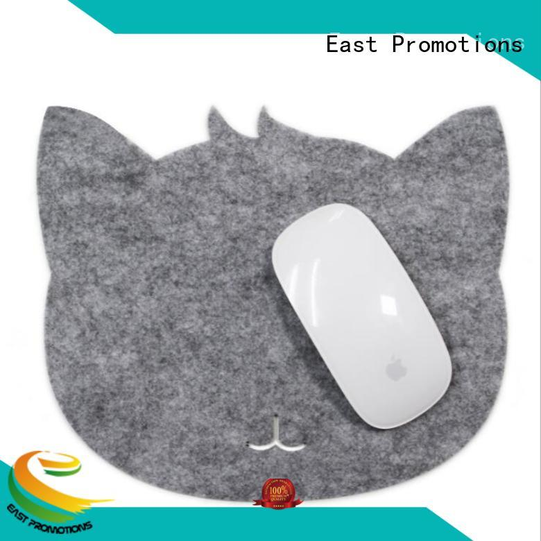 East Promotions colorful mouse pad with wrist support supplier for school