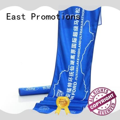 East Promotions easy to decompose personalized beach towels manufacturer for trip