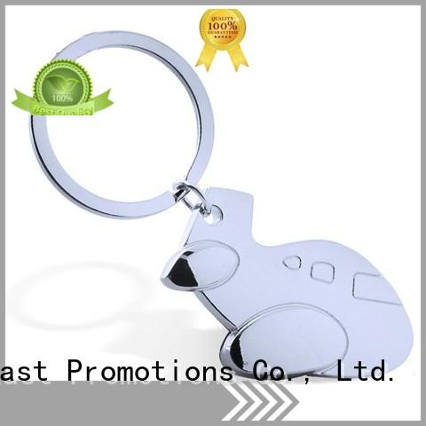East Promotions metal keychains with logo series bulk production