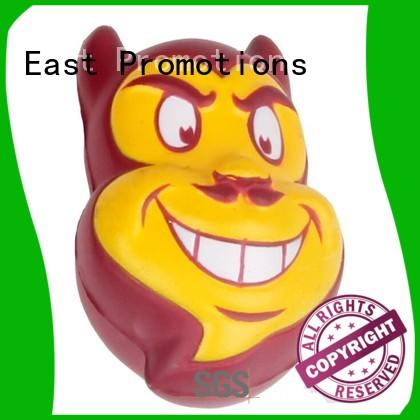East Promotions head stress man toy in different shape for kindergarten