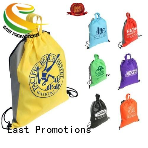 East Promotions good-looking waterproof drawstring bag durable for packing