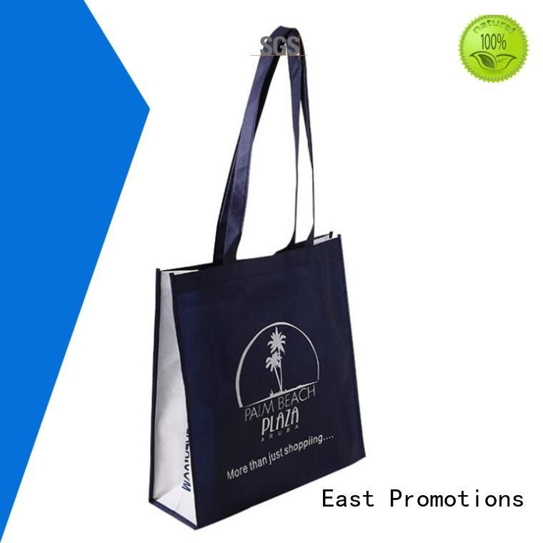 East Promotions printing non woven u cut bag for supermarket