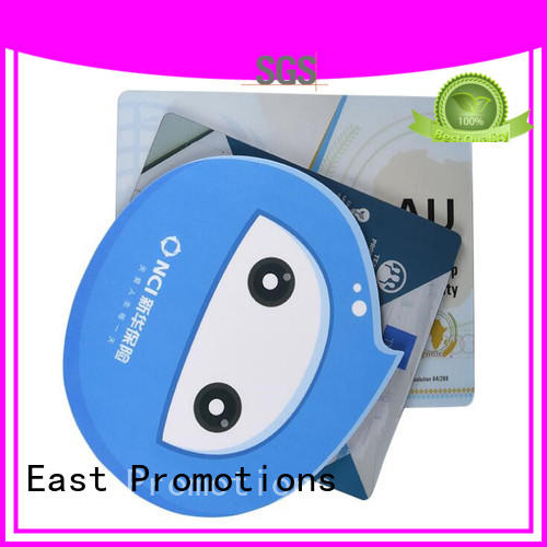 East Promotions write mouse mat marketing for school