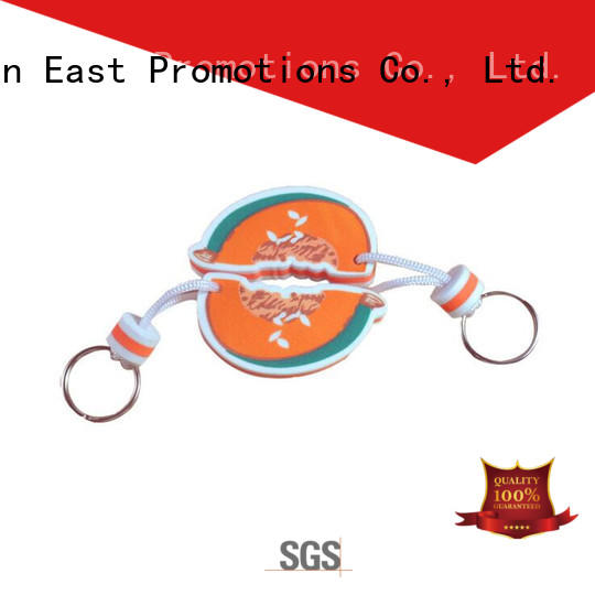 East Promotions top selling personalised floating keyring suppliers for decoration
