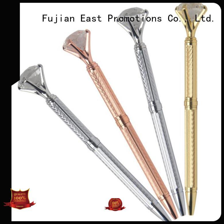 East Promotions fashion design thin metal pen drinking for gift