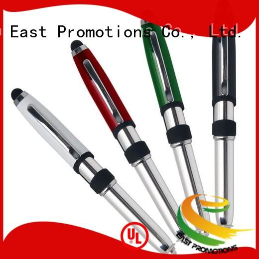 light metal stylus pen in different color for school East Promotions