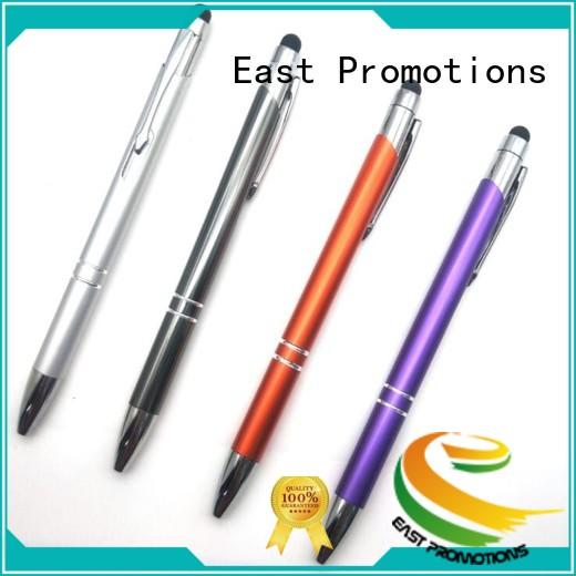 decoration custom metal pens hotel for student East Promotions