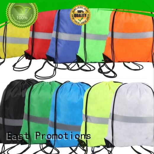 funny polyester drawstring bag factory price for trip East Promotions