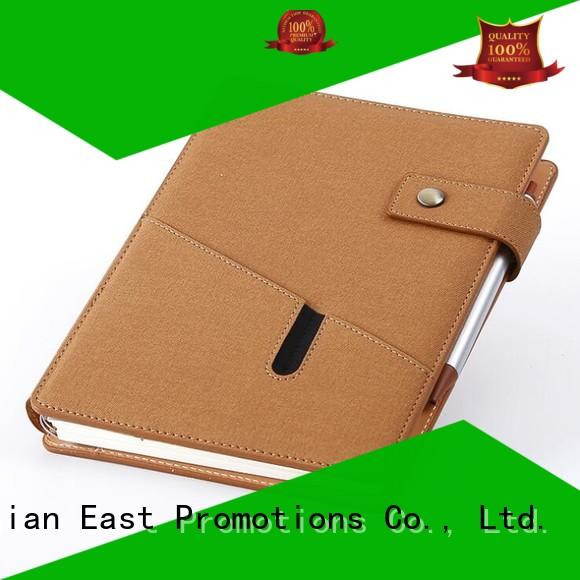 East Promotions high-quality custom notebooks in different shapes for work