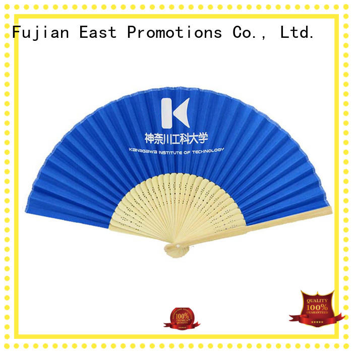 East Promotions high-end bulk hand fans overseas market for decoration