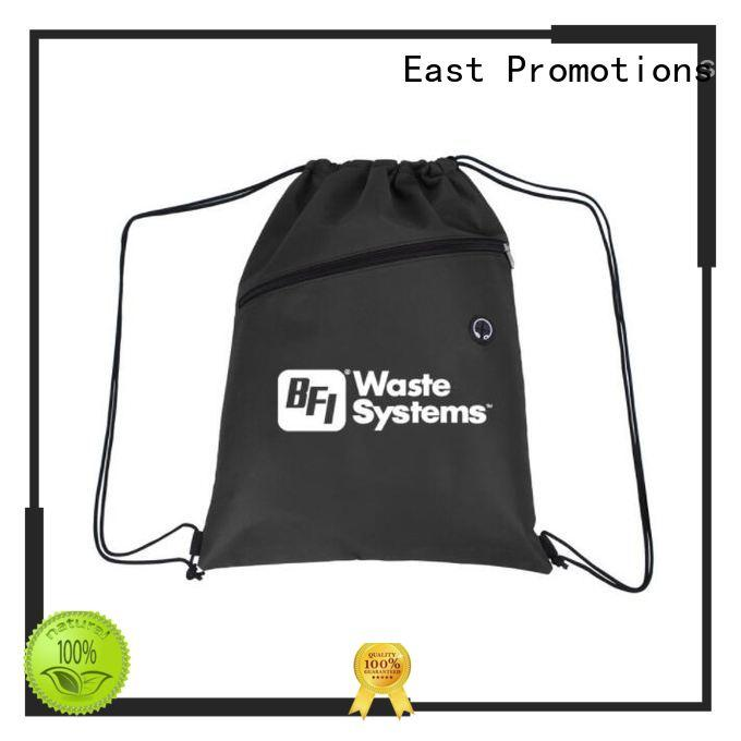 East Promotions gifts drawstring bags bulk in different color for school