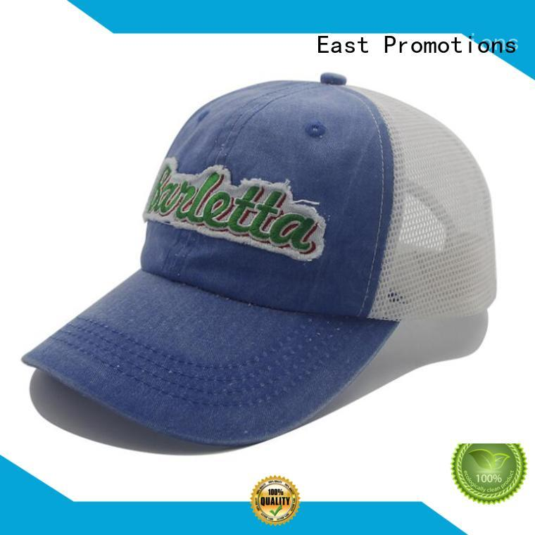 East Promotions jacquard beanie hat with logo owner for children