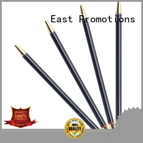 fountain black metal pen white for giveaway East Promotions