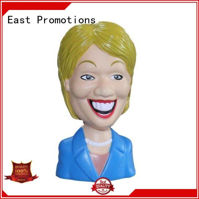 East Promotions relief anti stress ball in different shape for children