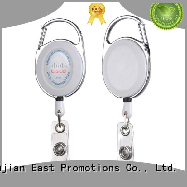 sturdy retractable name badge holders buckle for sale for trunk