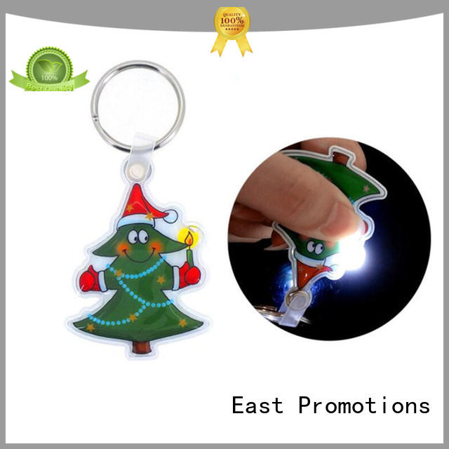 East Promotions 3d keychain flashlight decoration for decoration