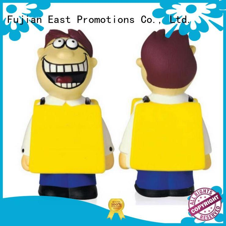East Promotions eco-friendly anti anxiety toys owner for shopping mall