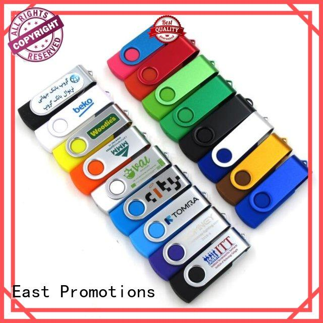 East Promotions health metal swivel usb flash drive logo for data storage