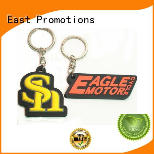 China Factory Custom Logo Design Rubber PVC Souvenir Key Chain