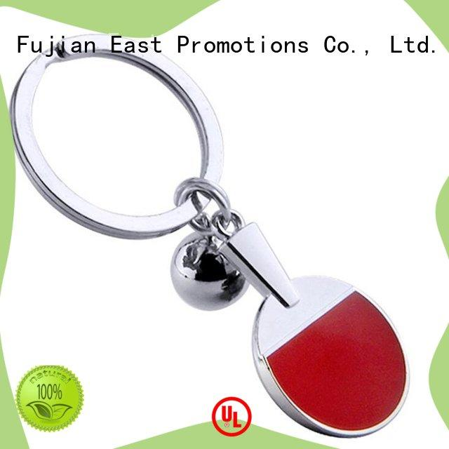 plain metal keyring quality for key East Promotions