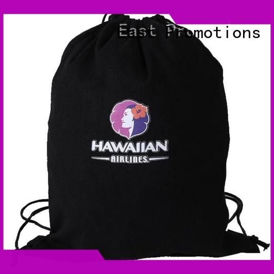 East Promotions colorful cool drawstring backpacks vendor for trip